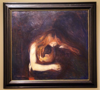 """Vampire"" by Munch"