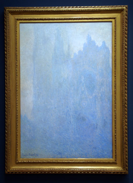 """La Cathedral dans le Brouillard"" by Monet"