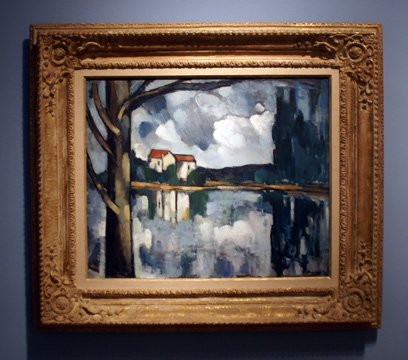 """Le Lac"" by de Vlaminck"