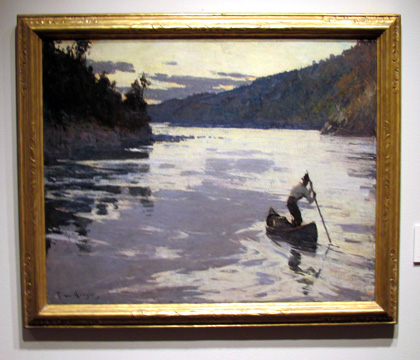 """Restigouche at Sunset' by Benson"