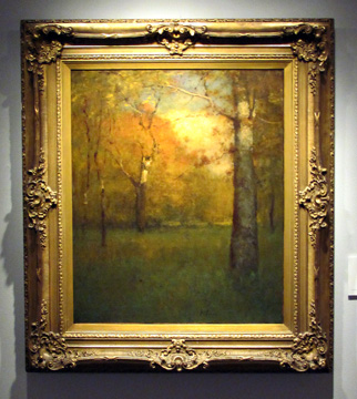 """Autumn, Montclair, New Jersey"" by Inness"