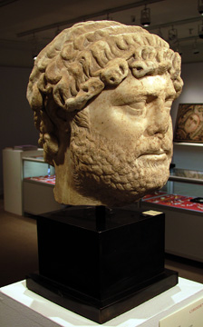 Portrait head of Hadrian