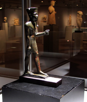 """Amun,"" Egyptian bronze"