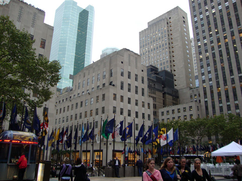 Rockefeller Center Plaza
