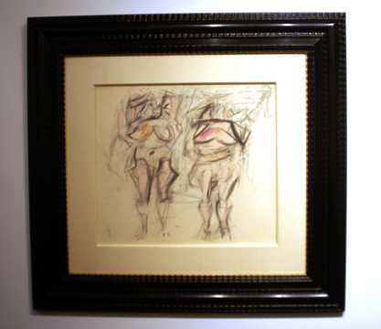 """Two Women 11"" by de Kooning"