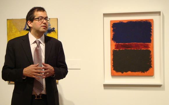 Robert Manley and Rothko
