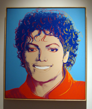 Michael Jackson by Warhol