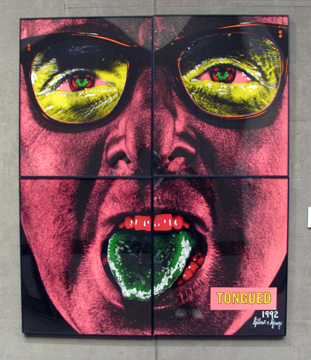 """Tongued"" by Gilbert & George"