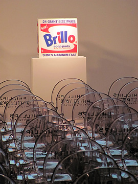 """Brillo box"" by Warhol"