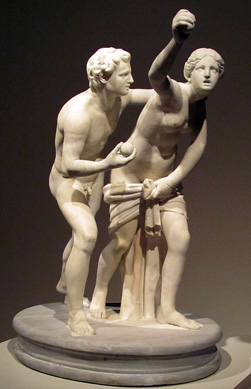 """Atalanta and Hippomenes"" group"