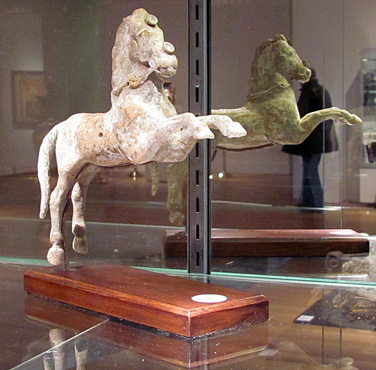 Hellenistic terracotta of a horse