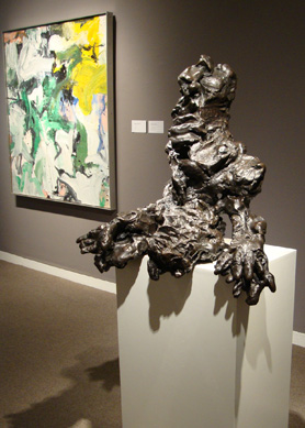 """Large Torso"" by de Kooning"