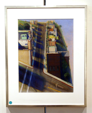 """San Francisco Street"" by Thiebaud"