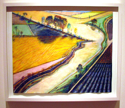 """Three River Bend"" by Thiebaud"
