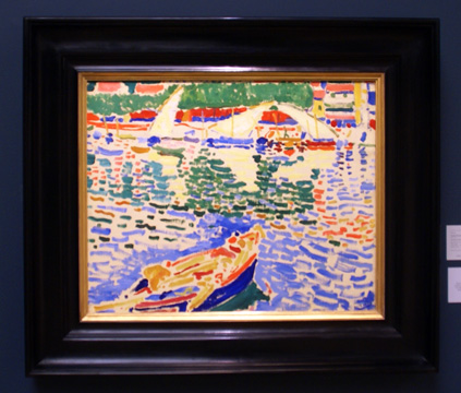 """Barrques au Port de Collioure"" by Derain"