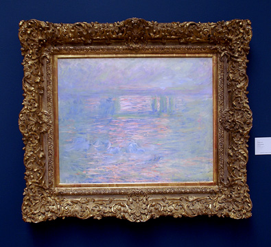 """Charing Cross Bridge'"" by Monet"
