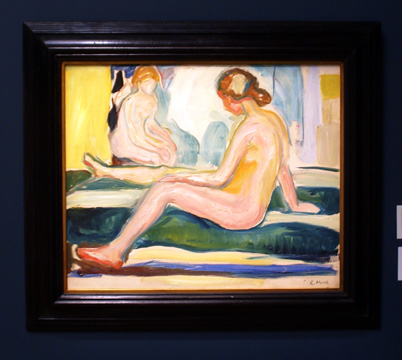 """Seated Females Nudes"" by Munch"