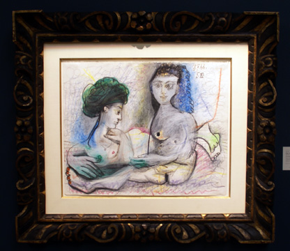 """Deux Femmes Nues"" by Picasso"