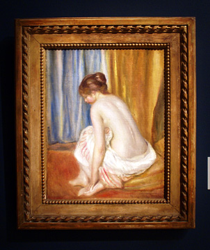 """Baigneuse"" by Renoir"