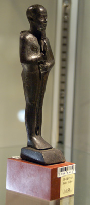 Egyptian bronze statue of Ptah