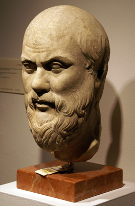 Roman bust of a man