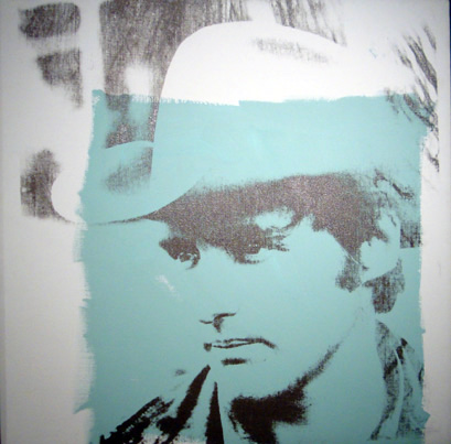 """Dennis Hopper"" by Warhol"