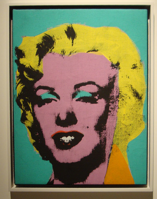 """Marilyn"" by Warhol"