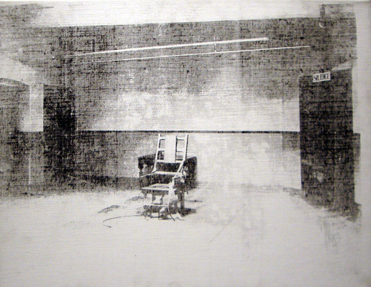 """Little Electric Chair"" by Warhol"
