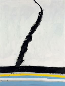"""In Black and White No. 5"" by Motherwell"