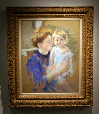Mother and Child by Cassatt