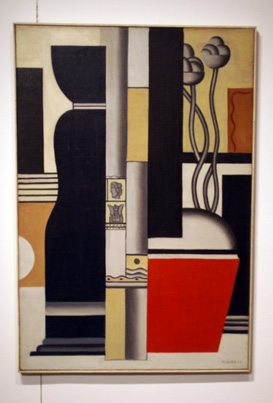 Still life  by Leger