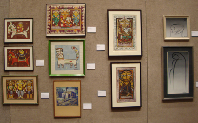 Works by Jamini Roy