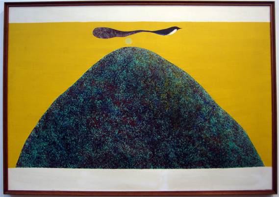 """Untitled (Bird and Mountain Series"" by Swaminathan"