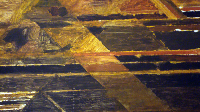 "Detail of Raza's ""La Terre"""