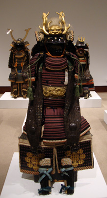 Josokawa clan purple-laced Nimai-Do Gusoku armor