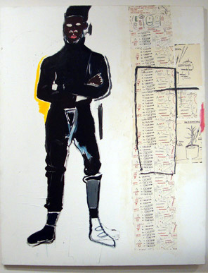 """MP"" by Basquiat"
