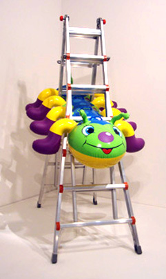 """Caterpillar Ladder"" by Koons"