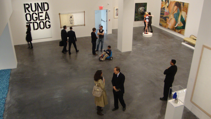 New exhibition space at 450 Park Avenue
