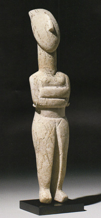 Cycladic woman