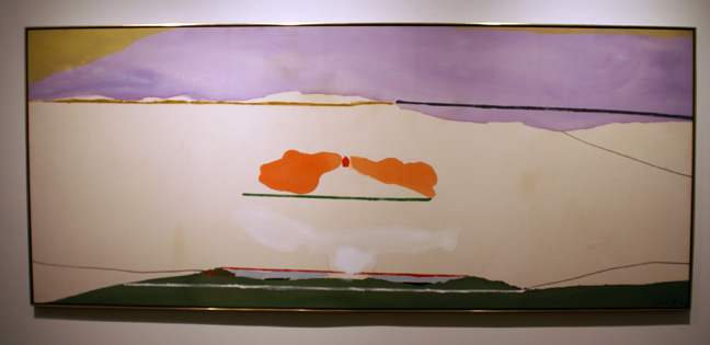 """White Beside"" by Helen Frankenthaler"