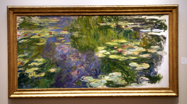 """Le Bassin au Nymph�as"" by Monet"