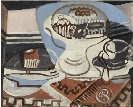 """Nature morte, fourchette"" by Picasso"