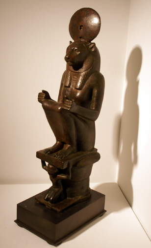 Egyptian Lion statue