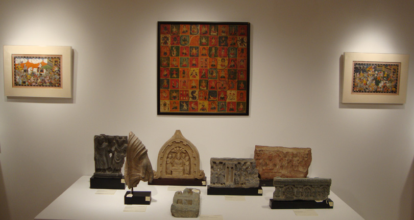 Indian minatures and Gandharan sculptures