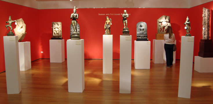 Christie's installation of Indian and Southeast Asian art
