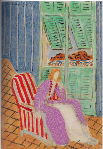 Interior scene by Matisse