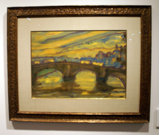 River scene by Nolde