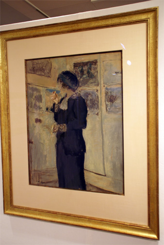 Lady by Vuillard