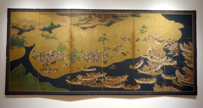 One of two anonymous Momoyama or early Edo screens