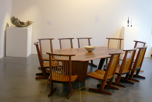 Dining set by George Nakashima
